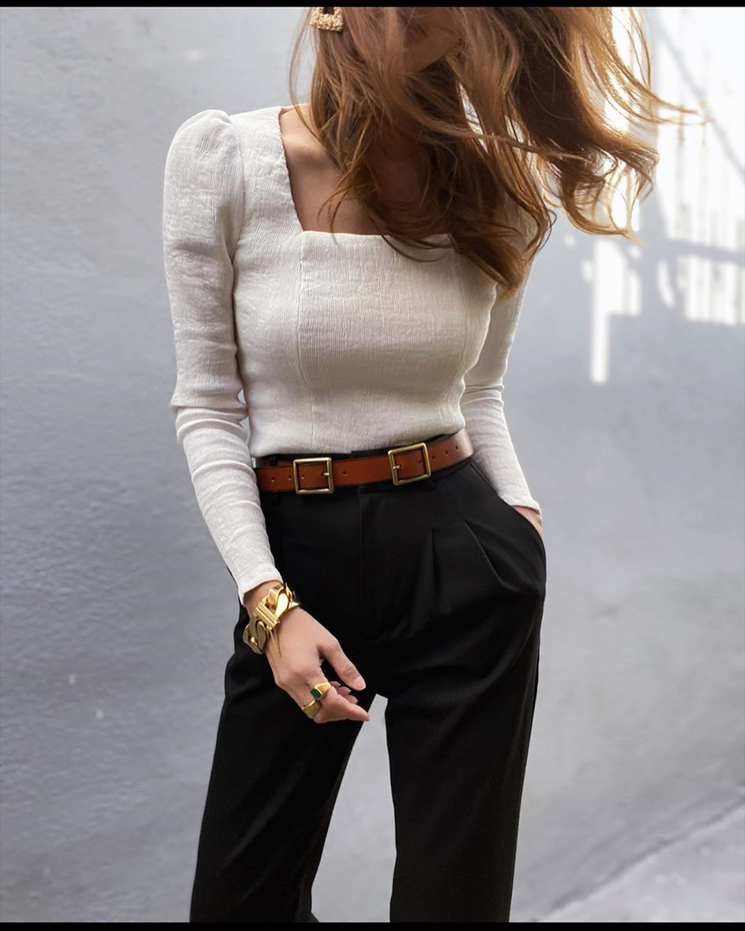 Square Neckline Tops Are My Favorite Trend for Spring