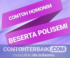 Contoh Homonim