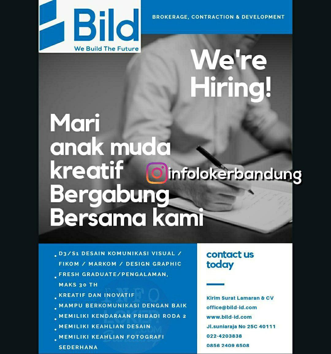 Lowongan Kerja Bild Indonesia Bandung September 2018