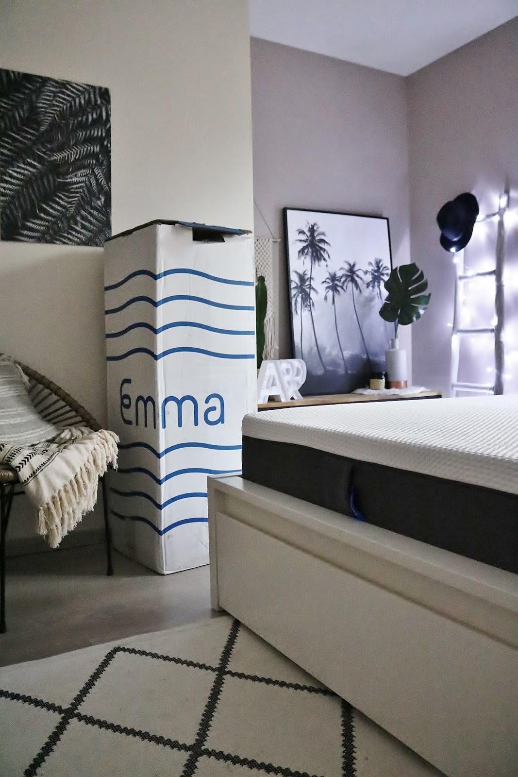 matelas-emma-pauline-dress-confort-memoire-de-forme-besancon-chambre-room-tour