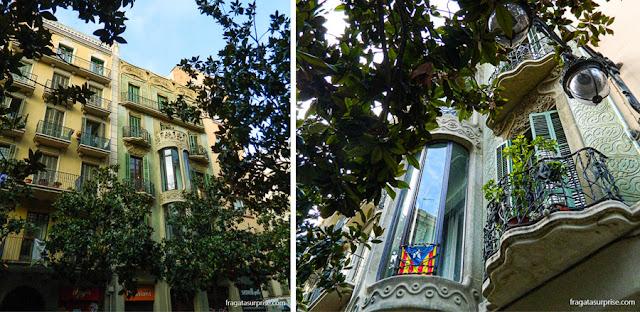 Casas modernistas em Gràcia, Barcelona