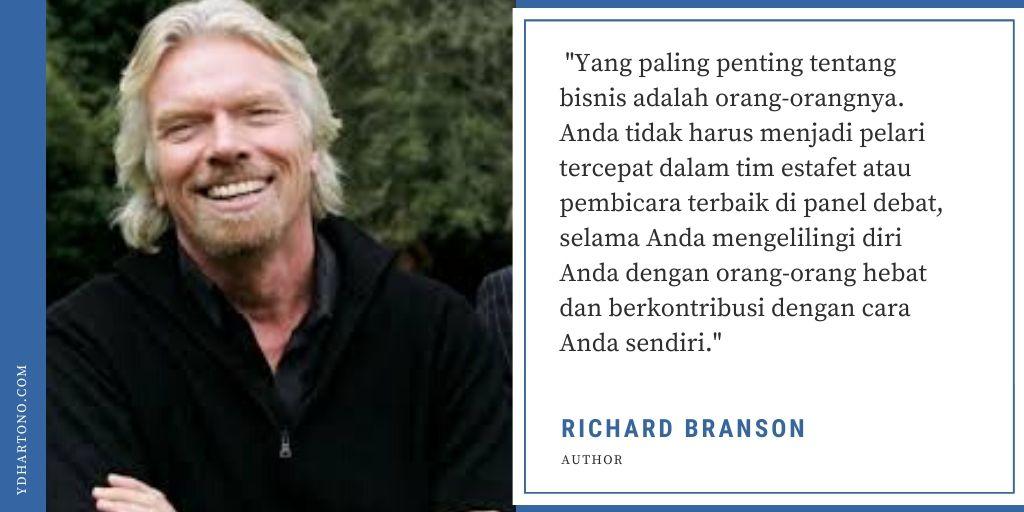 Kata Bijak Richard Branson Tentang Bisnis dan Kesuksesan