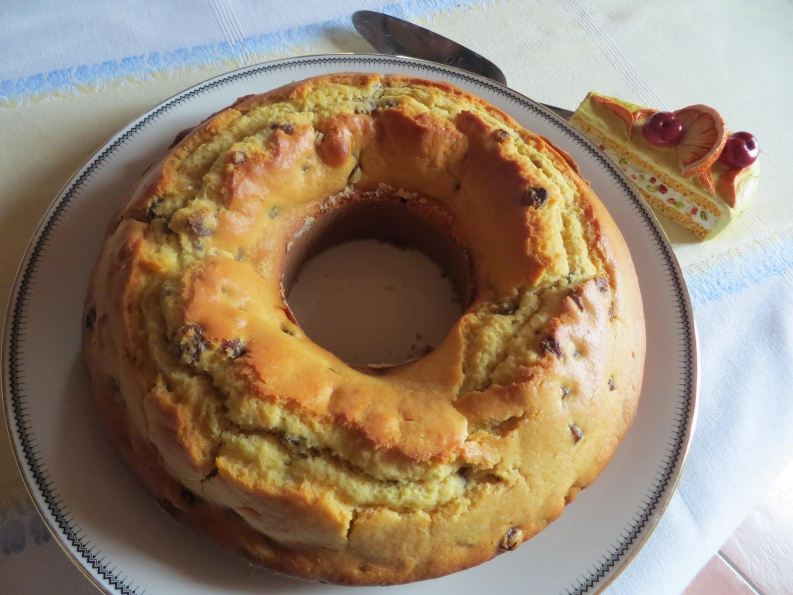 Torte Da Credenza Ricette : Sei chicchi di melograno: ciambella al miele e uvetta