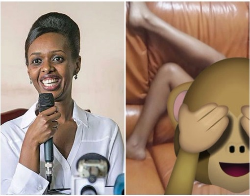 Rwandan Female Presidential Candidate's Nude Photos Leaked (18+ Photos)
