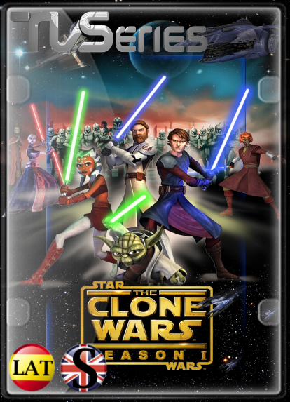 Star Wars: The Clone Wars (Temporada 1) HD 1080P LATINO/INGLES