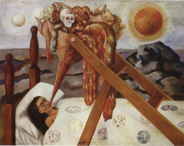 Фрида Кало - Без надежды. 1945
