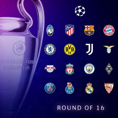 تعرف على الأندية المتأهلة لدور الـ 16 من دورى أبطال أوروبا وموعد القرعة