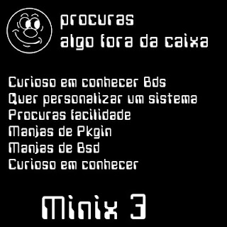 Minix3 que algo fora da caixa