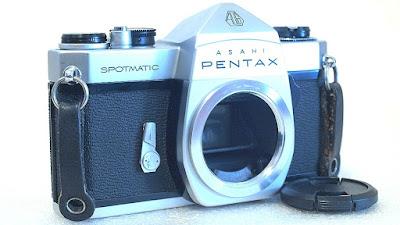 Asahi Pentax Spotmatic SP (Chrome) #166