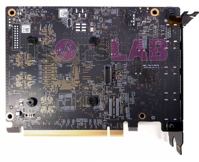 Intel Xe DG1 SDV GPU Back