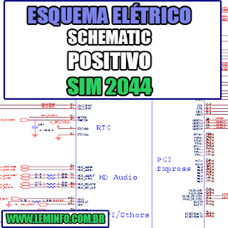 Esquema Elétrico Manual de Serviço Notebook Laptop Placa Mãe Positivo Sim 2044 Schematic Service Manual Diagram Laptop Motherboard Positivo Sim 2044 Esquematico Manual de Servicio Diagrama Electrico Portátil Placa Madre Positivo Sim 2044