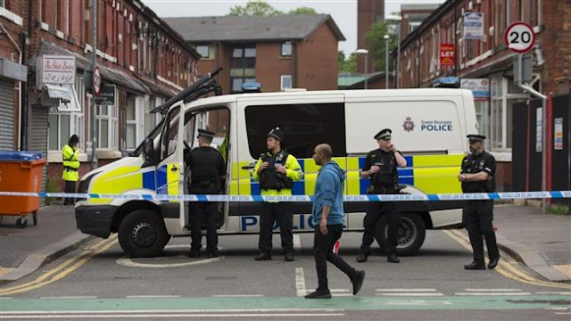 UK police arrest 17th suspect in Manchester bombing