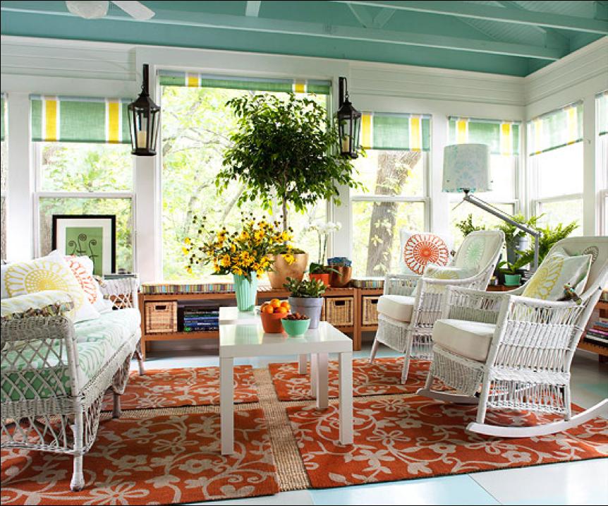 rustic indoor sun room furniture ideas | Sunroom Furniture Ideas: Sunroom Furniture Ideas ...