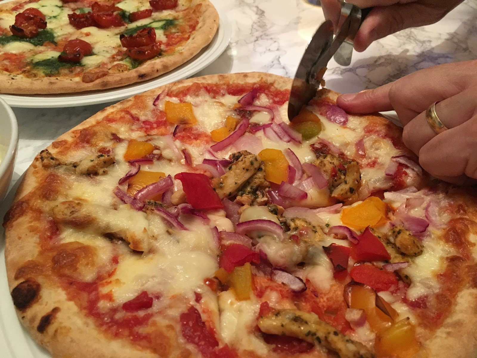 Pizza Express review \ Iceland \ Artisana \ food blogger \ gelato \ Italian night \ Priceless Life of Mine \ Over 40 lifestyle blog