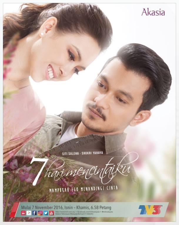 7 Hari Mencintaiku Slot Akasia (TV3)