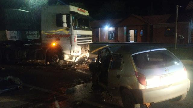 Laranjeiras: Condutor que morreu no acidente em frente ao SAU na BR 277 teria ingerido bebida alcoólica
