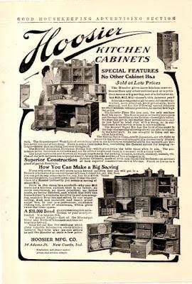 Hoosier Kitchen Cabinets - 1906