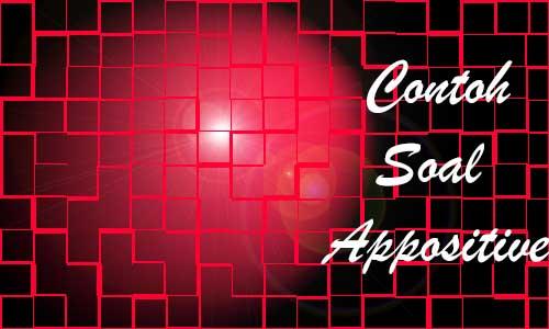 Syarat dan Contoh Soal Appositive Bahasa Inggris