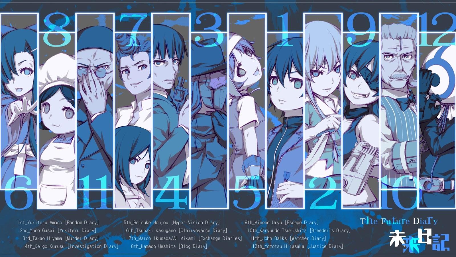 Future Diary Wallpaper: Animes Magasine: Julho 2013