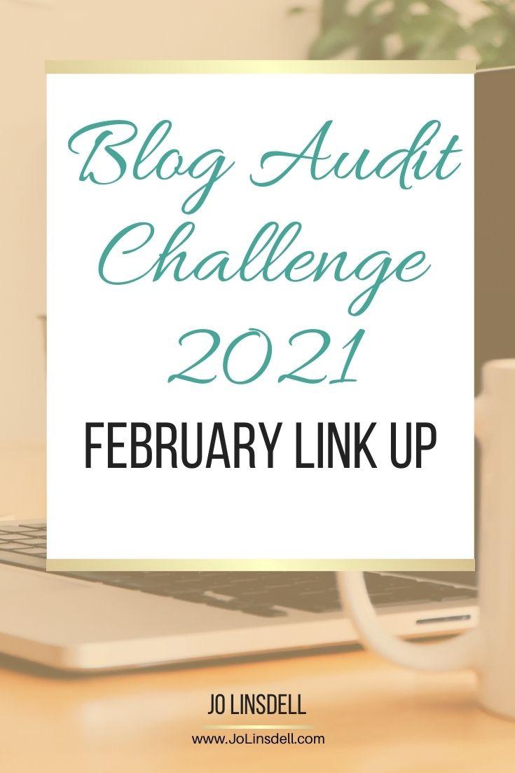 Blog Audit Challenge 2021 February Link Up
