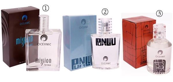 perfumes masculinos Oceanic