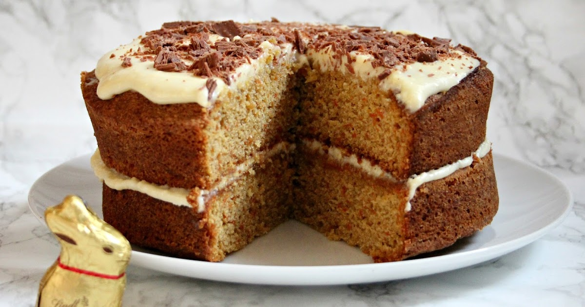 Nut-Free Carrot Cake