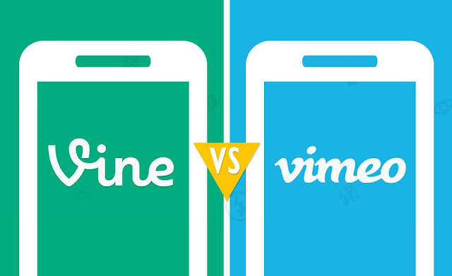 Vine Vs. Vimeo, Launch to Latest Stats - #Infographic #socialmedia #apps