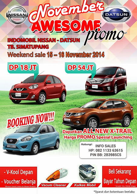 Promo Nissan Showroom Event