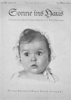 Hessy Levinsons en la portada de Sonne ins Haus