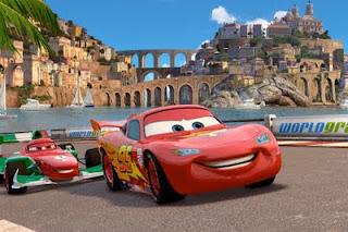 Cars 2 - Unos paisajes espectaculares