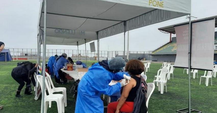 Este miércoles se iniciará en Arequipa vacunación contra covid-19 a personas de 29 años a más