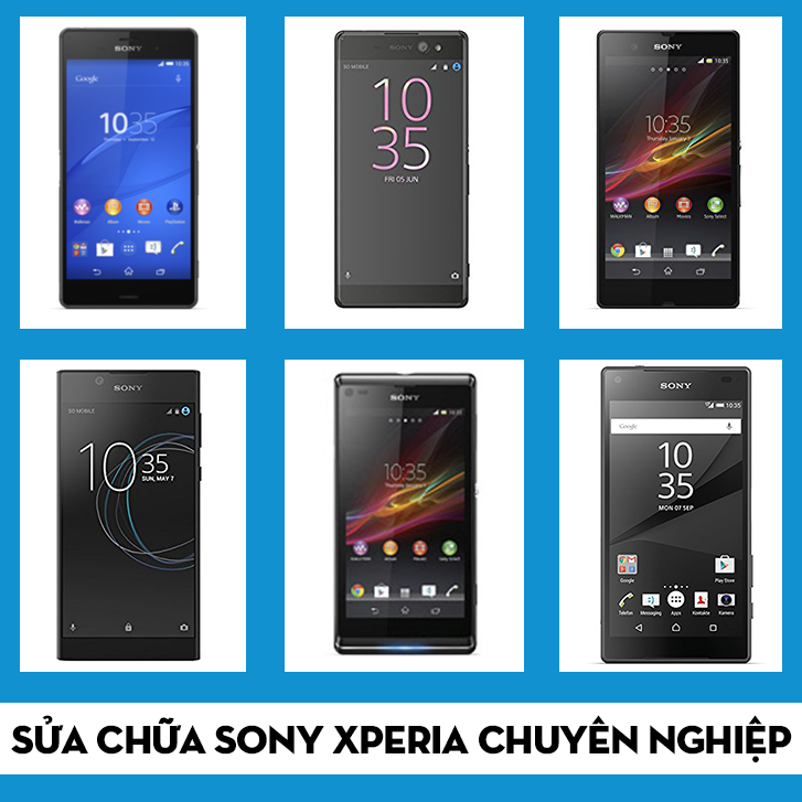 thay mặt kính Sony Xperia XZ Pro