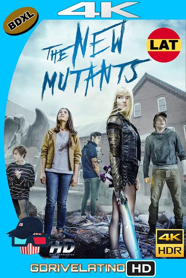 Los Nuevos Mutantes (2020) BDXL 4K UHD HDR Latino-Ingles ISO