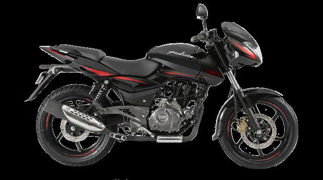 New 2018 Bajaj Pulsar 150 Red & black color hd pics