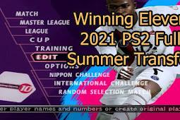 Winning Eleven 2021 Full Summer Transfer PS2 ISO