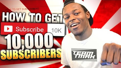 How To Get +10,000 Subscribers On YouTube Channel