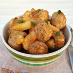 Quick Dinner or Appetizer ! Sweet and Sour Pork Meatballs are always a winner