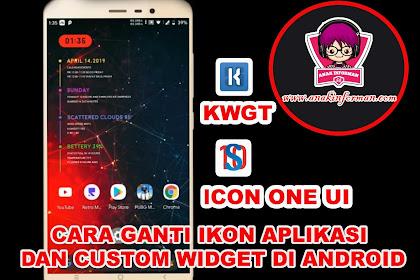 Cara Ganti Ikon Aplikasi dan Custom Widget dengan KWGT Gratis