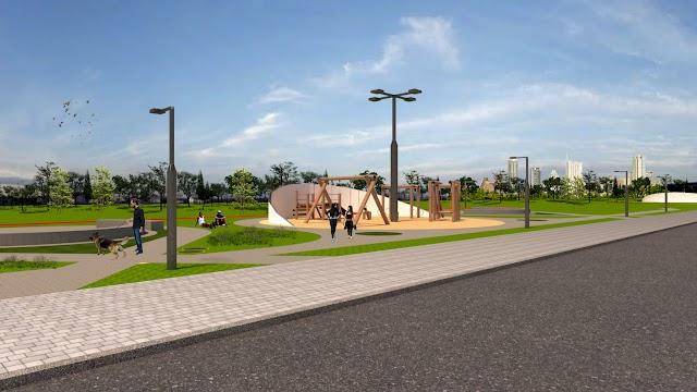 Beti Pavin irá construir parque que vai da Estrada da Ribeira até a BR - 116