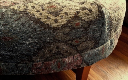 As I Said Put Your Feet Up 1 Custom Ottoman Slipcover
