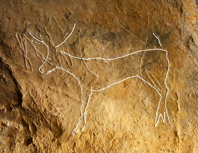 Ice Age art hidden by graffitti: 12,000-year-old images of animals discovered in eastern France