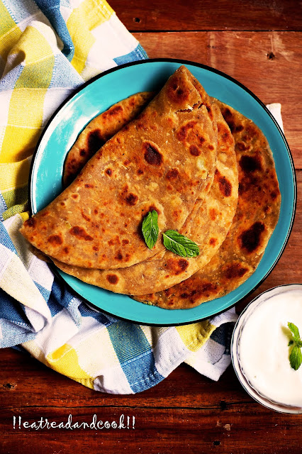 how to make Lauki Paratha /Bottle Gourd Paratha recipe and preparation