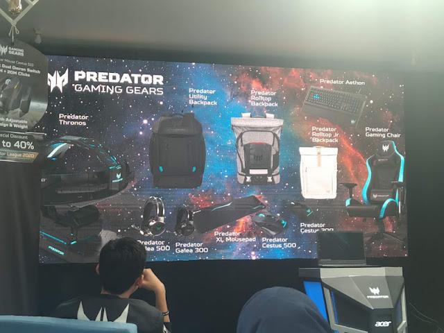 berbagai macam gaming gears Predator
