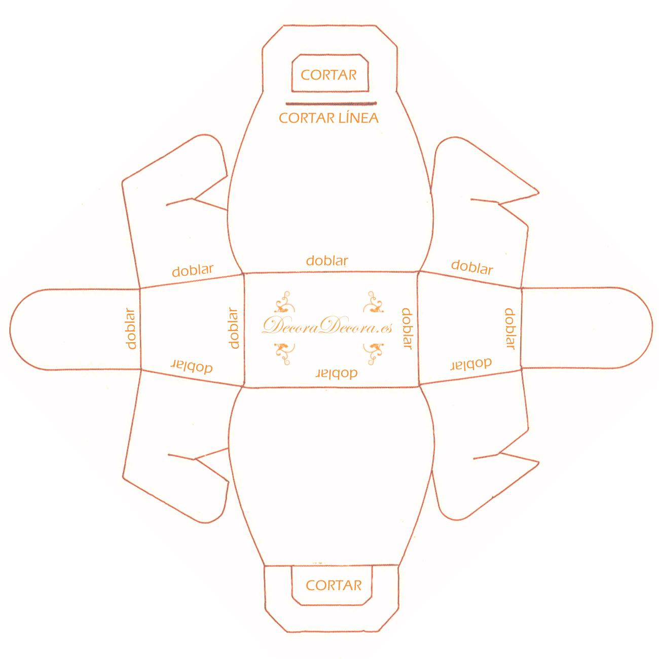Industrial Home Design Moldes O Plantillas Para Hacer Cajas De Cart 243 N Quiero