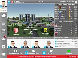 Dirige um Verdadeiro Clube de Futebol no Club Soccer Director 2020