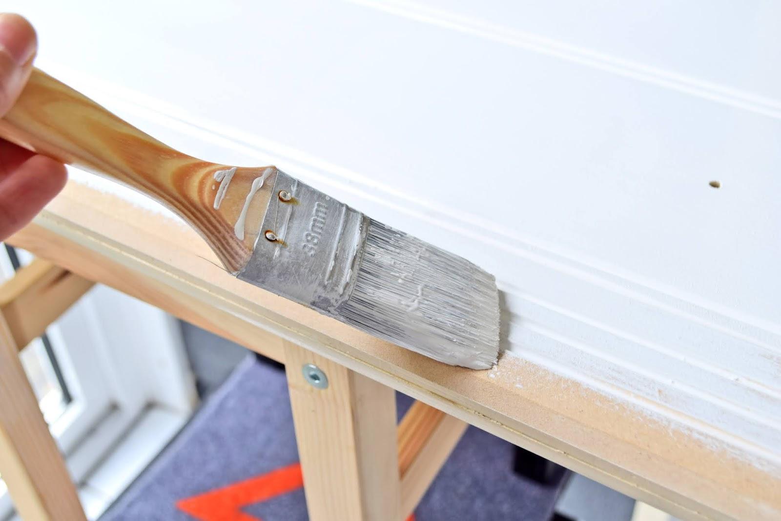 Sposób na malowanie drewna