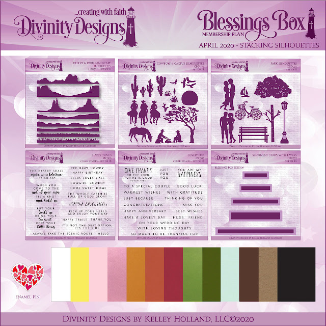 Divinity Designs LLC April Blessings Box Subscription