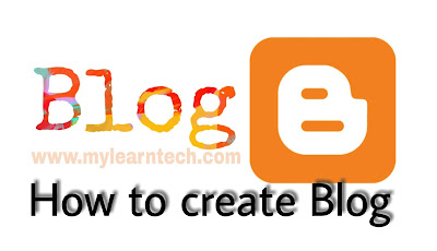 How to create blog post in blogger
