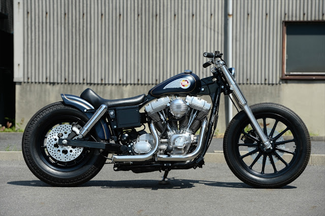 Harley Davidson FXD 2002 By The Oldspeed Factory Hell Kustom