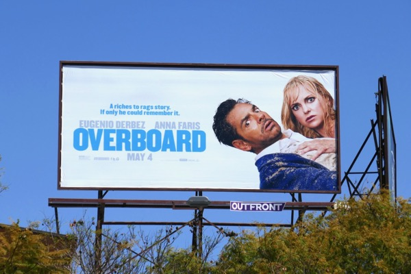 Overboard 2018 movie billboard
